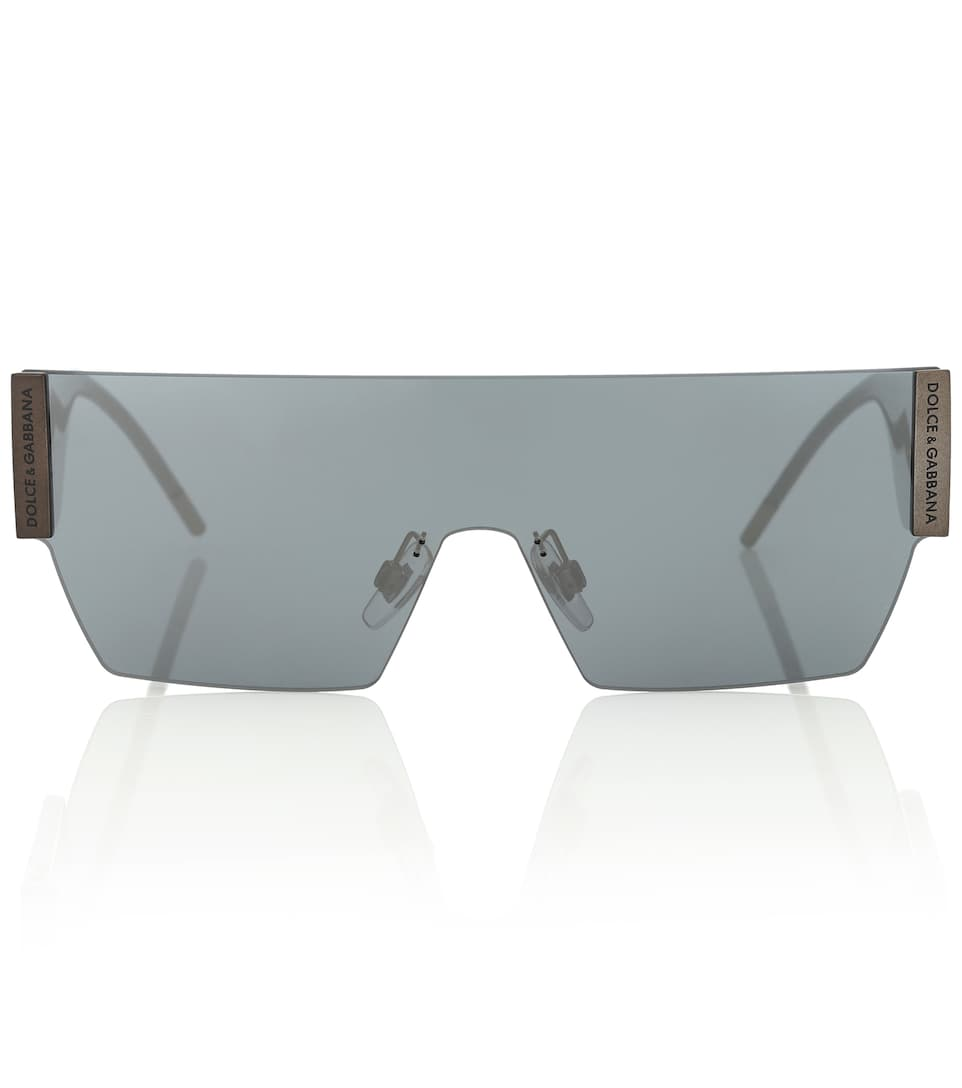 rectangular-wrap-sunglasses by dolce-&-gabbana