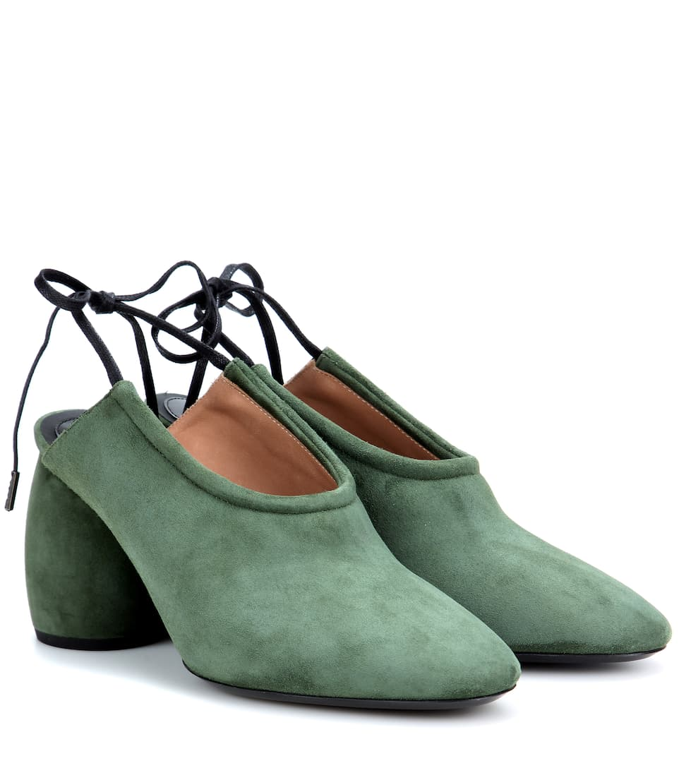 Dries Van Noten Leather Lace-Up Pumps best wholesale online discount reliable buy cheap eastbay free shipping ebay low shipping fee sCJbQOJ