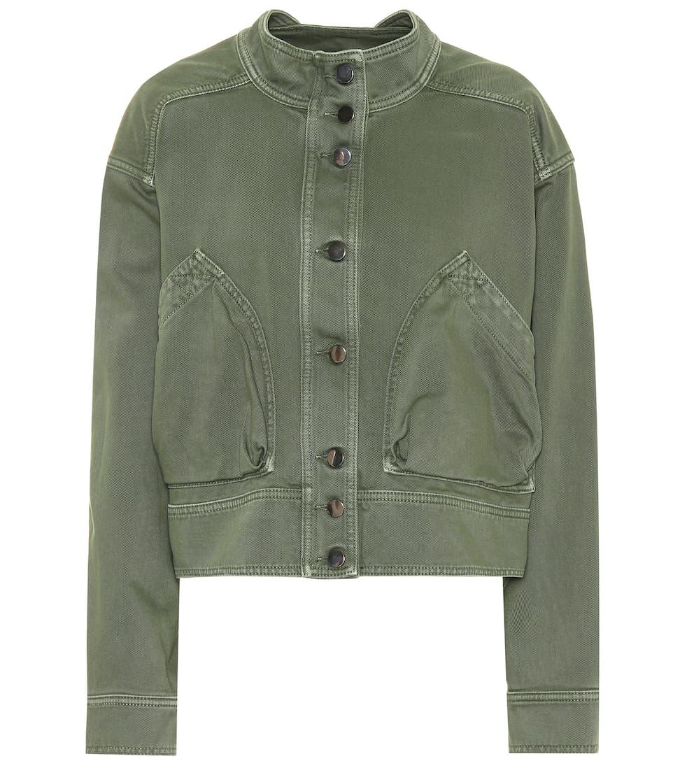 Valentino Jacke aus Baumwoll-Gabardine