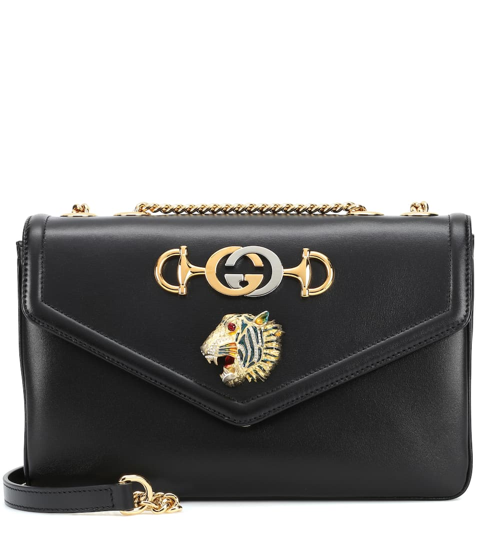 59f3e62d0 Tiger Head Medium Shoulder Bag - Gucci | mytheresa
