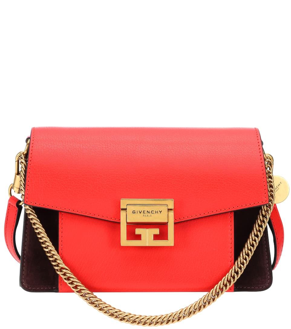 7b3eddd1a19da Small Gv3 Leather Shoulder Bag   Givenchy - mytheresa.com