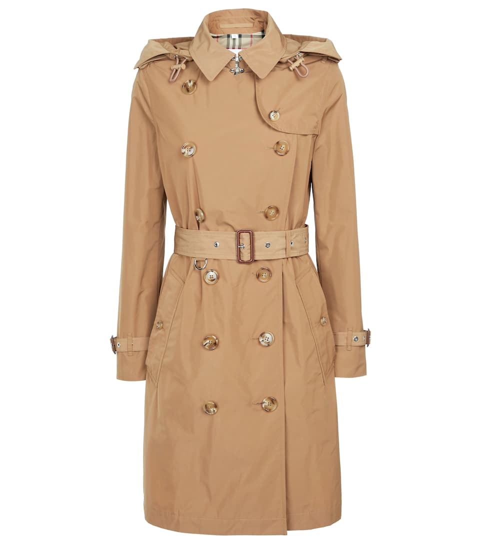 Hooded Trench Coat by Burberry