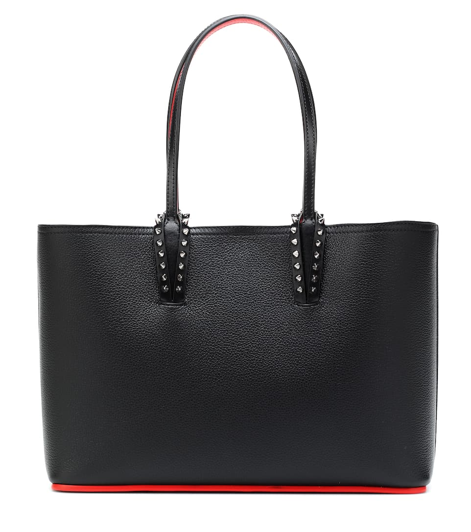 Cabata Small Leather Tote by Christian Louboutin
