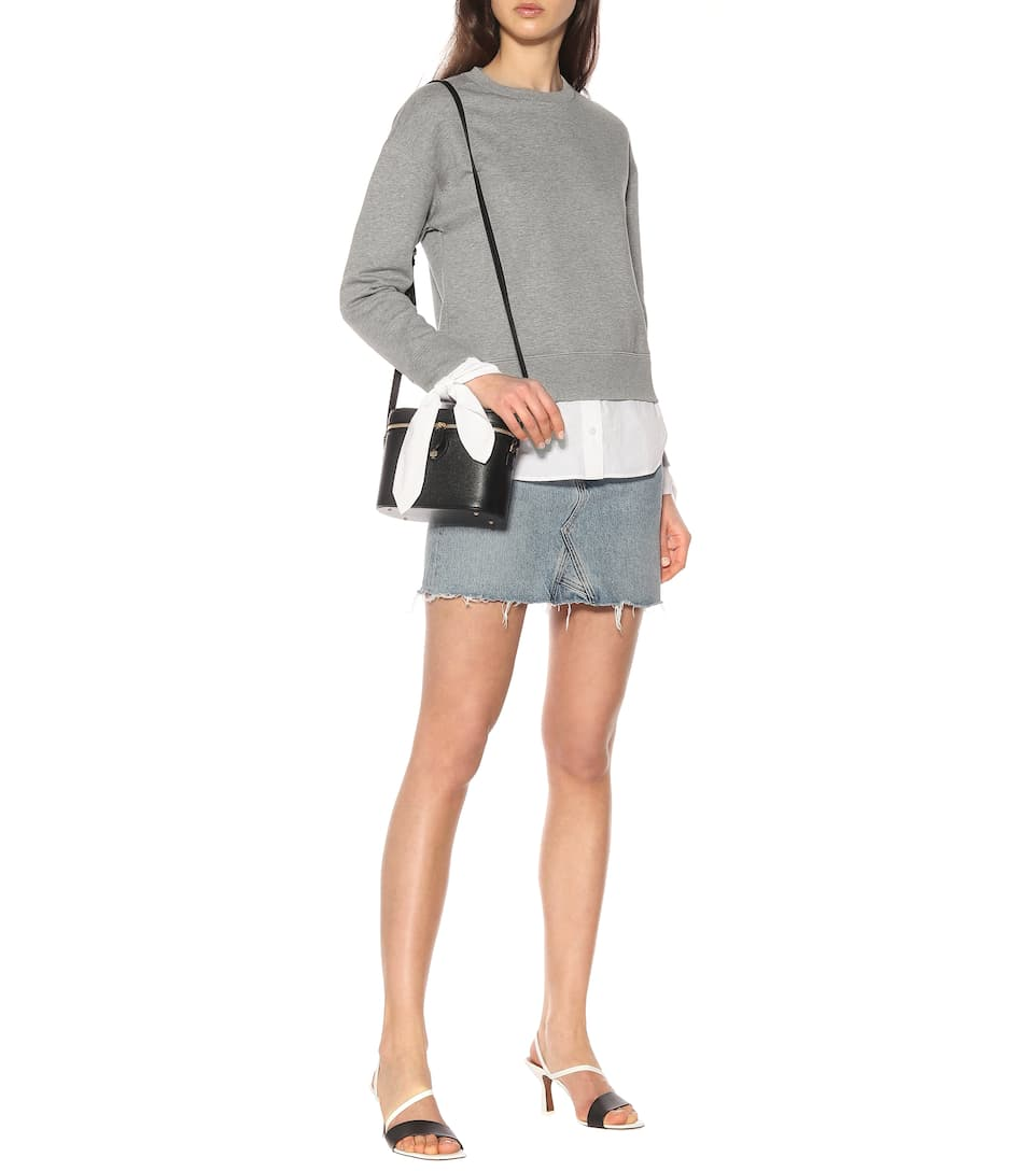 Moncler - Embellished cotton-blend sweatshirt