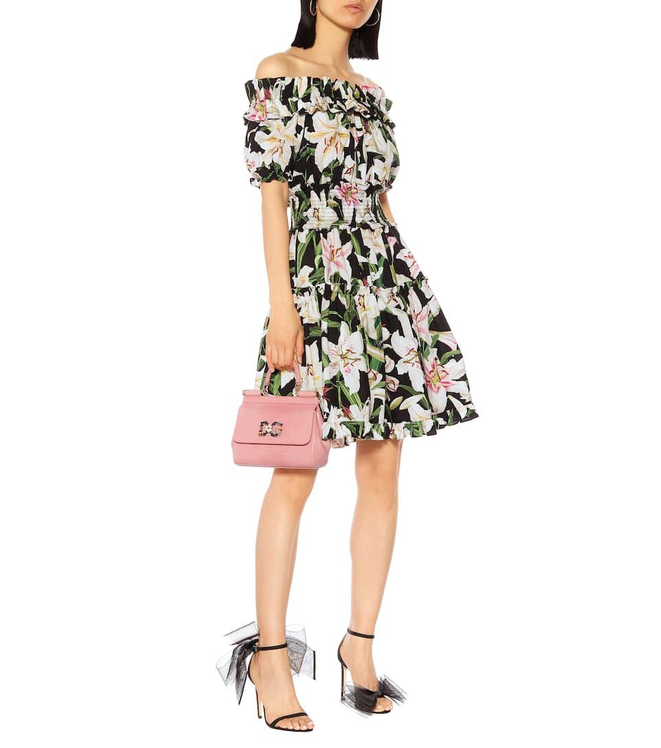 Dolceamp; N° Imprimée En Artnbsp;p00389219 GabbanaRobe Coton nP80wOk