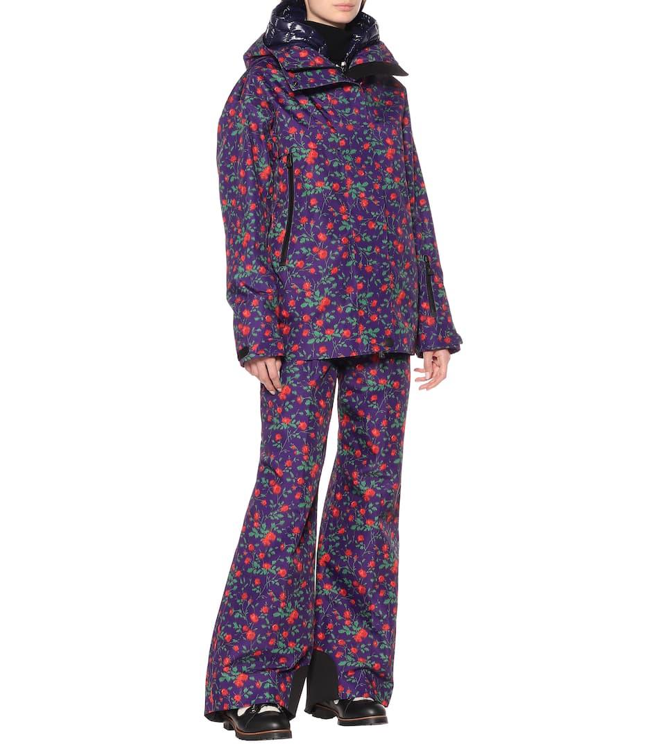 Moncler Genius - 3 Moncler Grenoble floral ski jacket