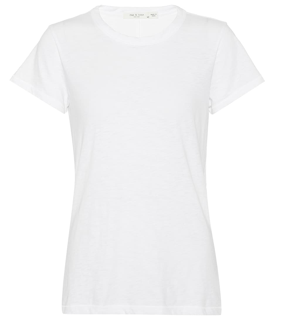 Rag & Bone T-Shirt The Tee aus Baumwolle