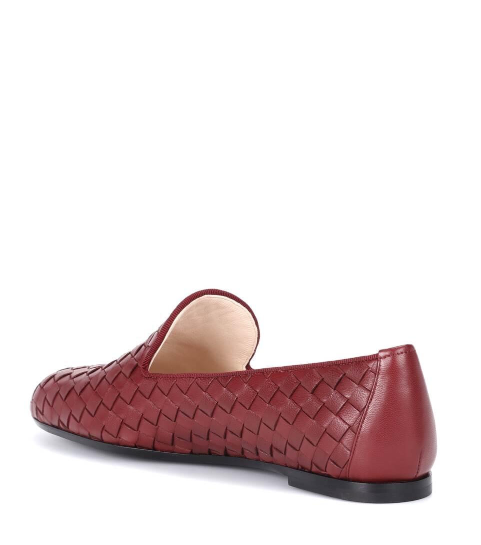 Bottega Veneta Loafers aus Intrecciato-Leder Spielraum Erkunden Spielraum Mit Paypal kiP7PBpl