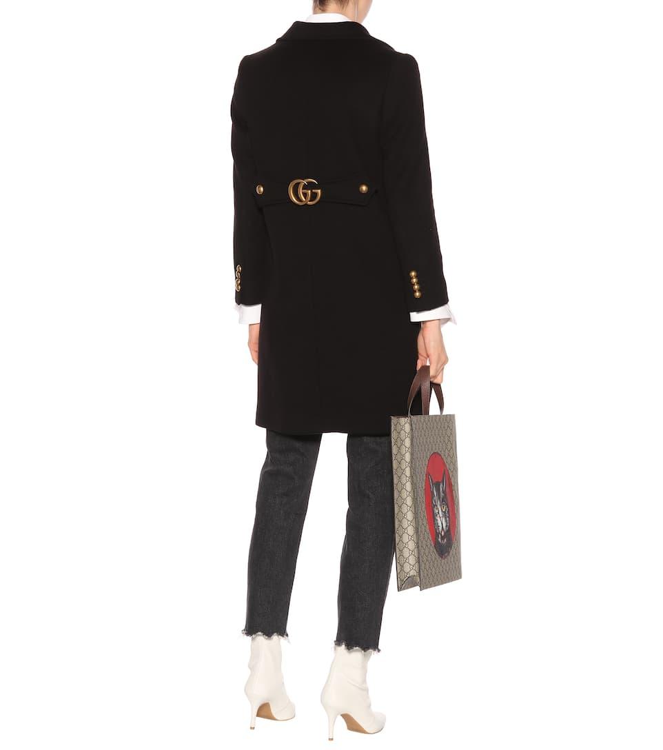 Ja Wirklich Gucci Mantel aus Wolle Beliebte Online Sie Günstig Online Billig Verkauf Komfortabel yff0x9LZUe