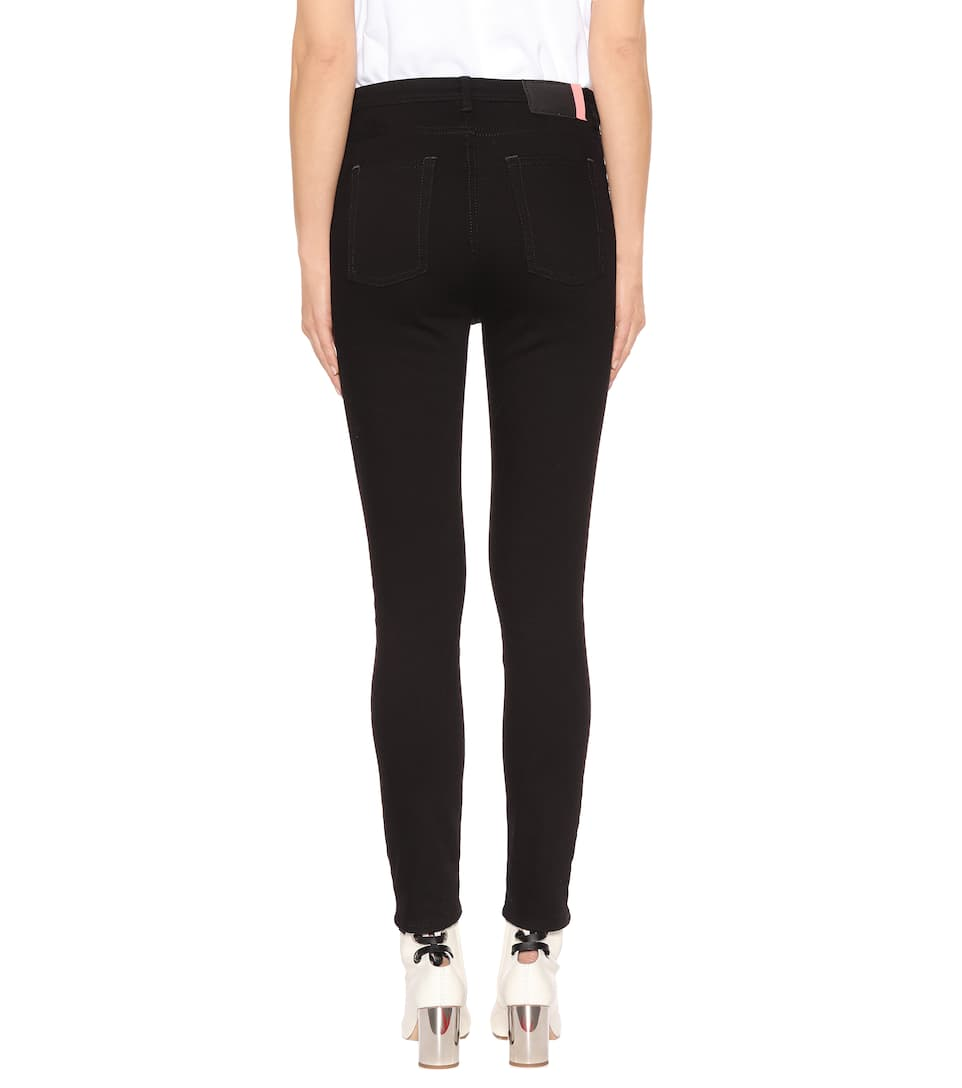 Acne Studios Skinny Jeans Peg Of Cotton