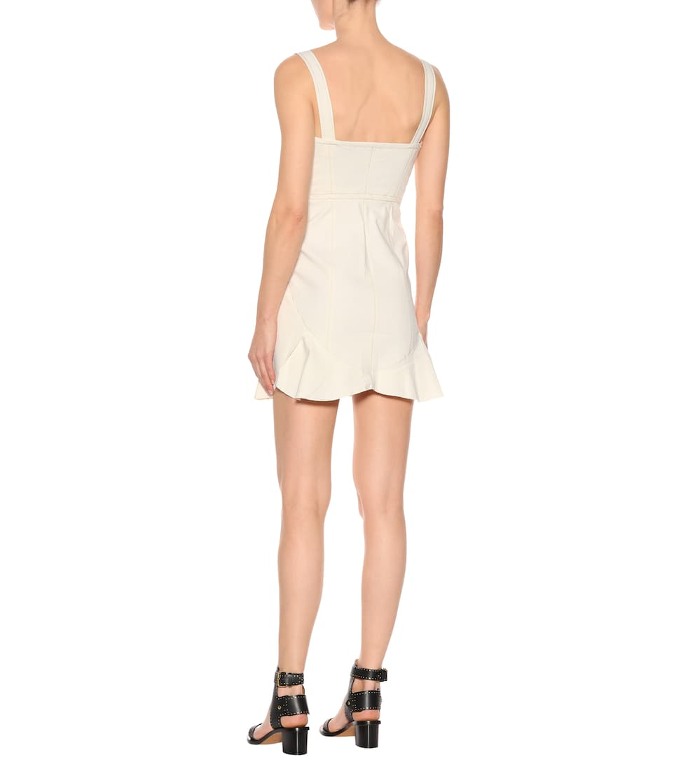 Isabel Marant Mini Dress With Cotton Jayme