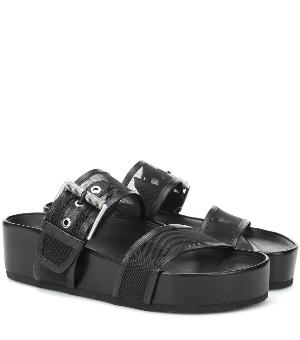 db45871e8826 Evin Mesh Platform Sandals - Rag   Bone
