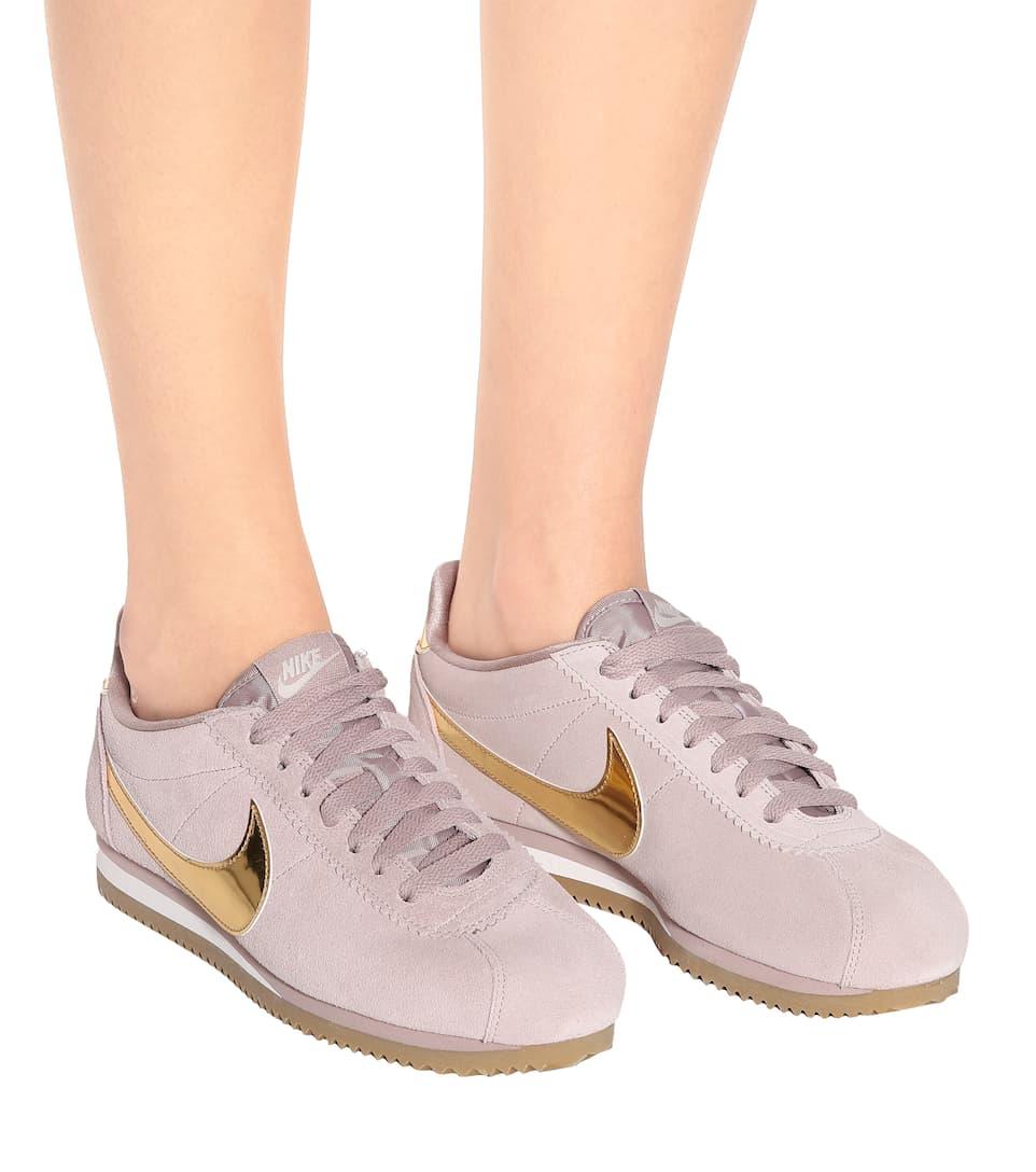 a00079cf3ccf53 Nike Classic Cortez Suede Sneakers - Nike