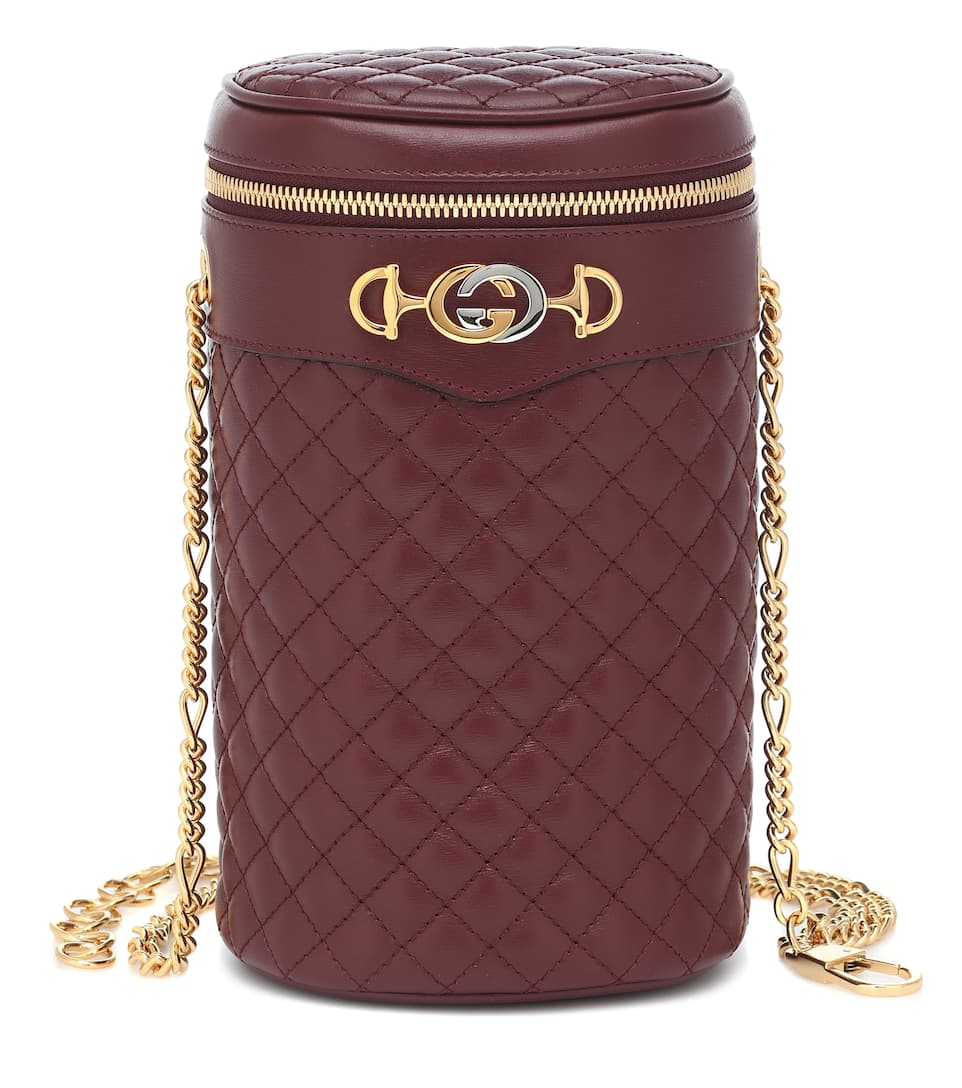 80ed29cb1c Quilted leather belt bag