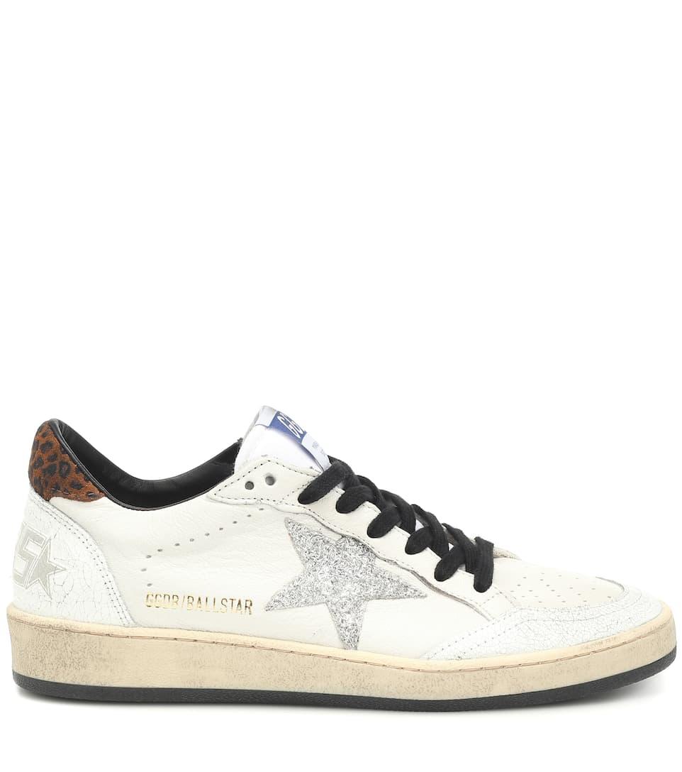 Sneakers Ball Star In Pelle - Golden Goose | Mytheresa nmHNaM4z