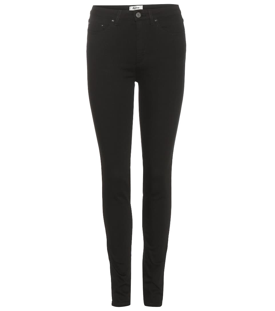 Acne Studios High-Waist Skinny Jeans Pin