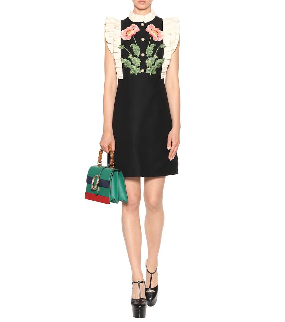 Pas Cher Nice Ebay Vente En Ligne Sac Cross-Body En Cuir Dionysus Medium - Gucci Jeu Site En Ligne Officiel professionnel JvByX