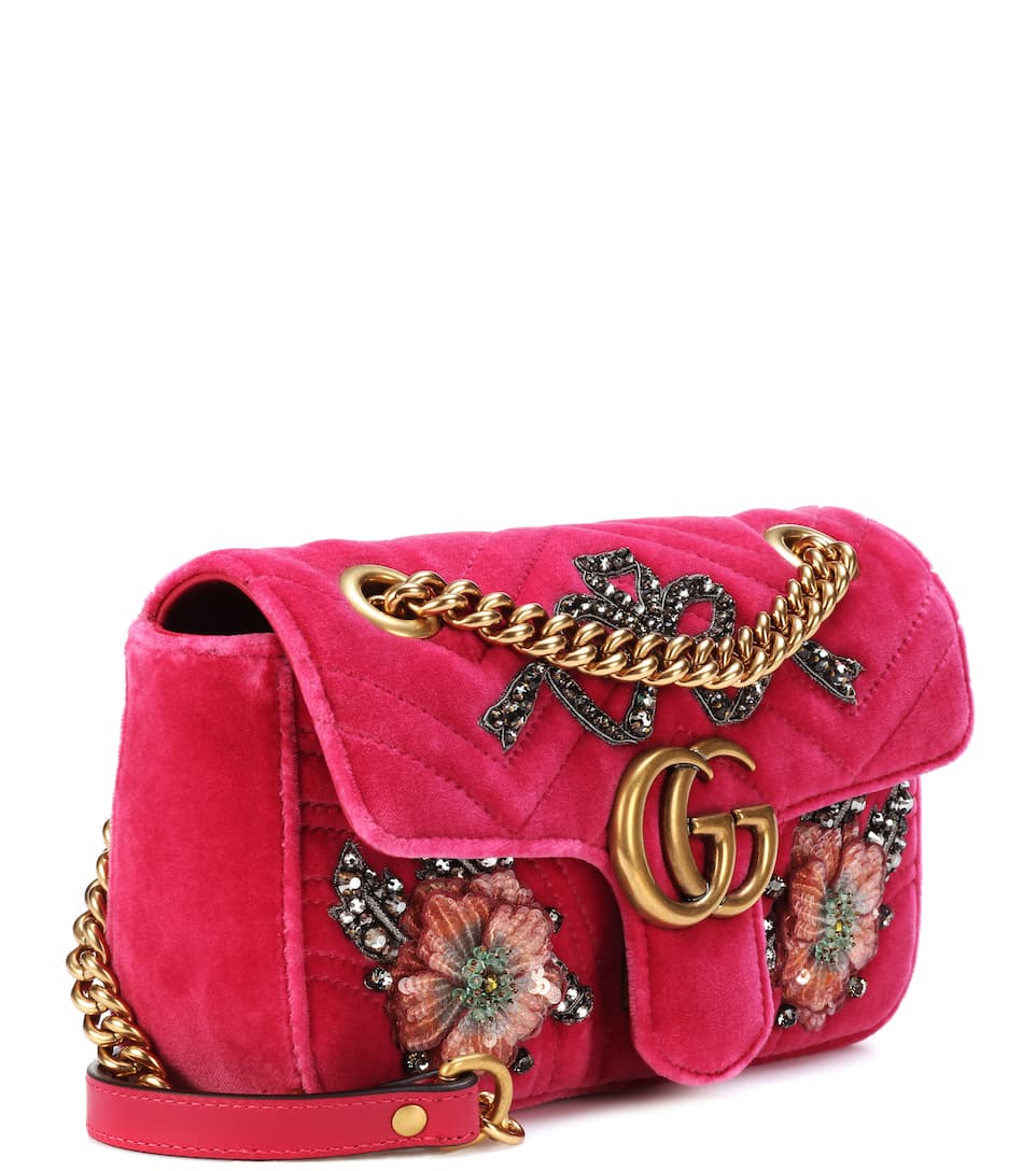 9317e2cad104b6 Gucci Bag Pink Velvet | Stanford Center for Opportunity Policy in ...