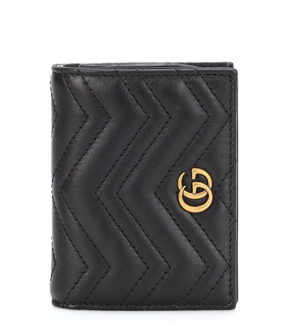 f1d91daca Gg Marmont Leather Wallet - Gucci | mytheresa