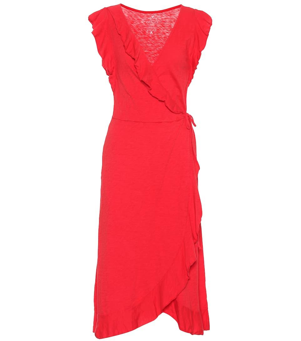Velvet Dress Mytheresa Wrap Cotton Sedona Slub 0qgOa4f