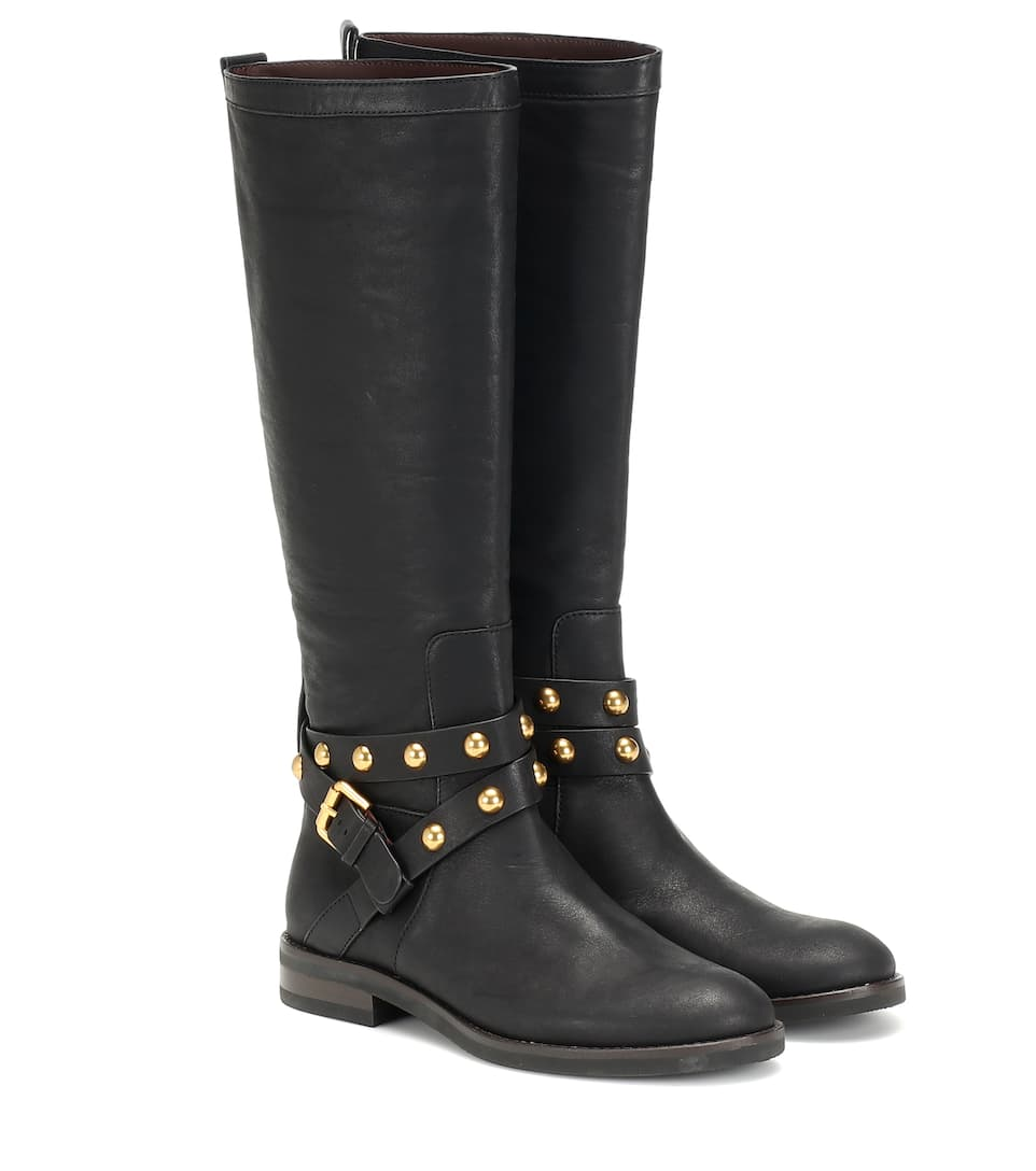 neo-jines-knee-high-leather-boots by see-by-chloé