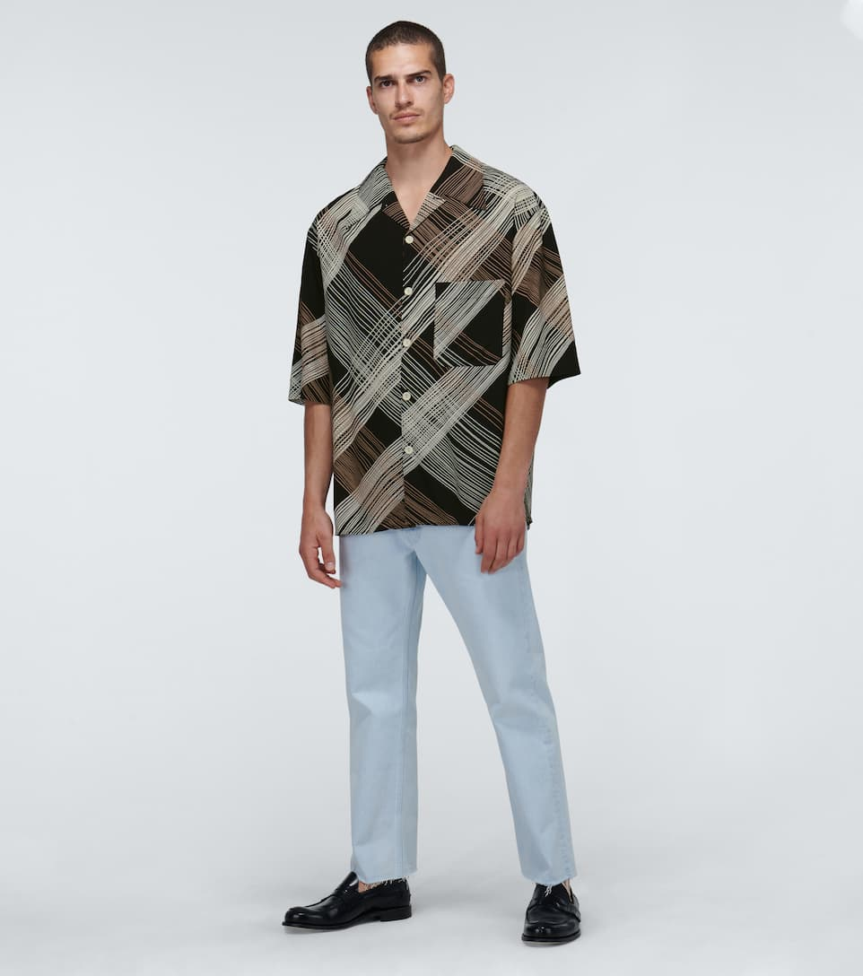 Lemaire - Convertible Collar Shirt Big Discount