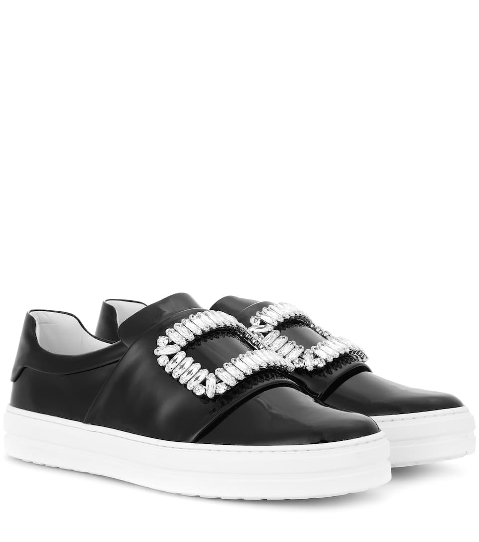 Roger Vivier Sneaky Viv' patent leather sneakers