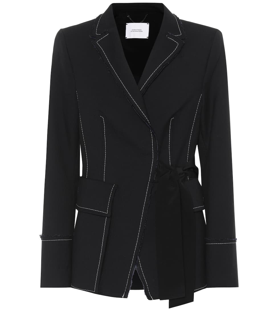 Dorothee Schumacher Tailored Structure twill jacket