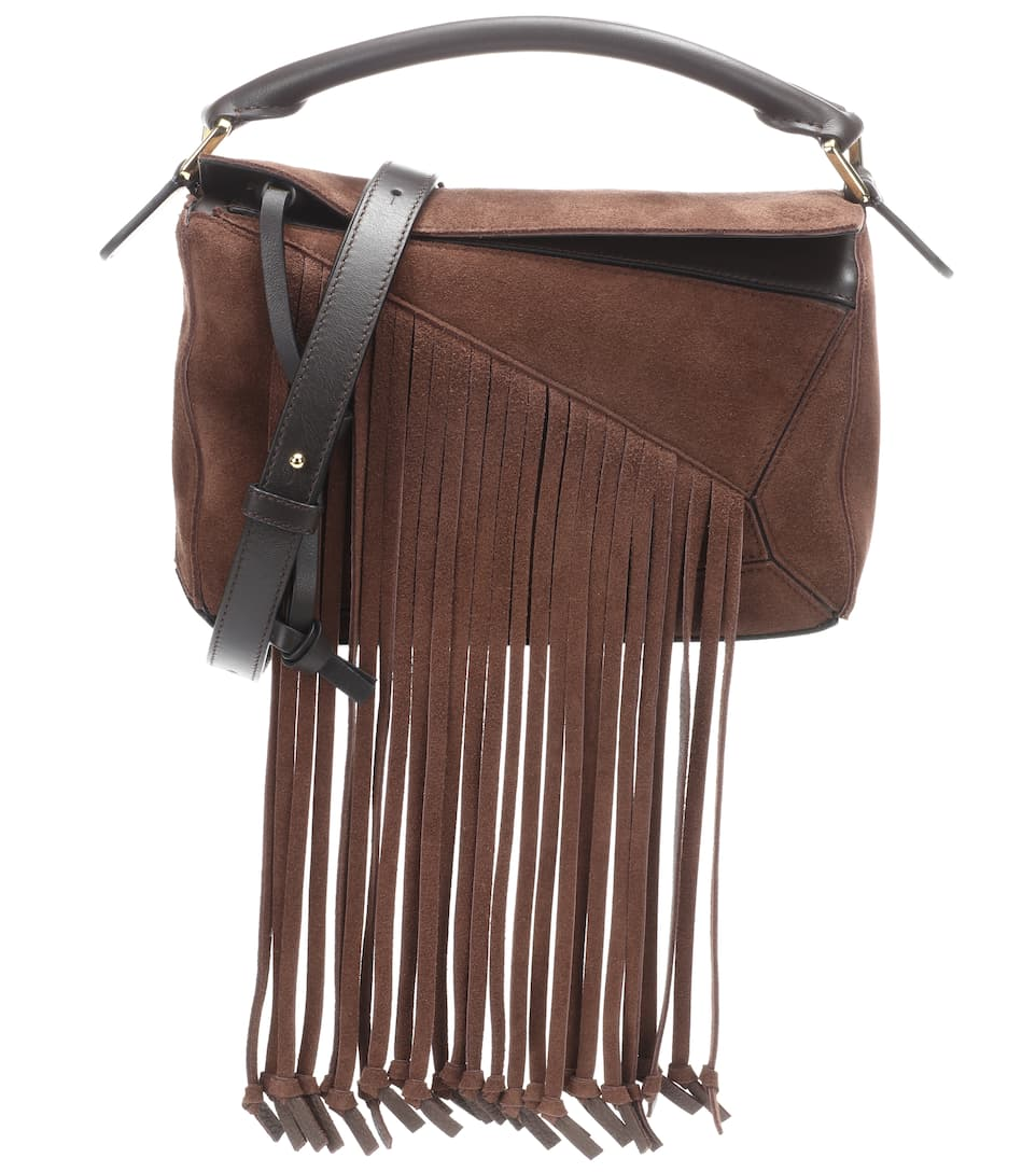 Loewe Schultertasche Puzzle Fringes Small