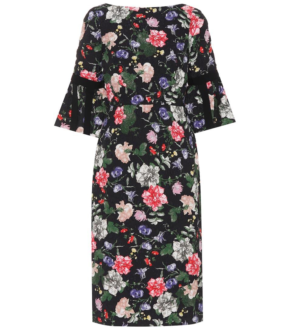 Erdem Bedrucktes Kleid aus Jacquard