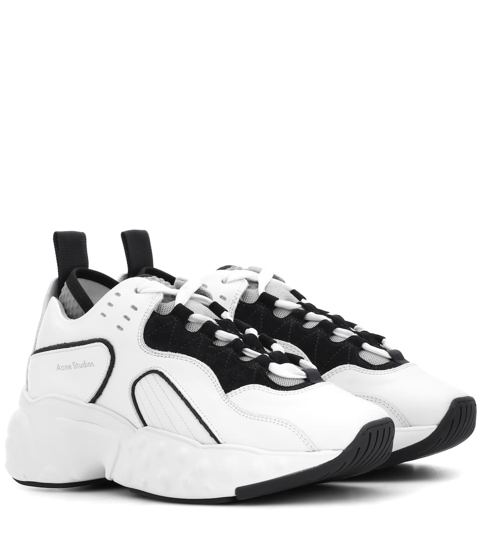 Acne Studios Sneakers Manhattan in pelle