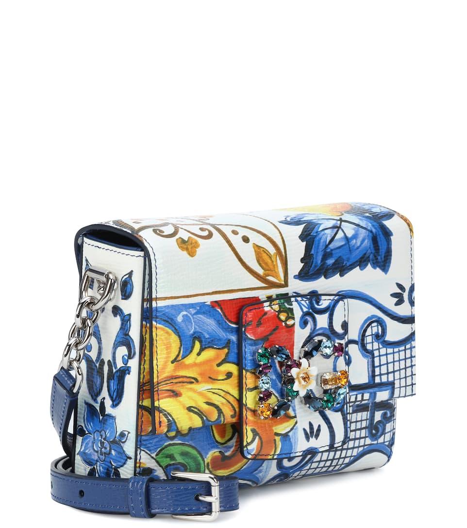 Vente Pas Cher Expédition Bas Moins Cher Dolce & Gabbana - Sac à bandoulière en cuir DG Millennials Mini Bonne Vente vvqGiyYpoL