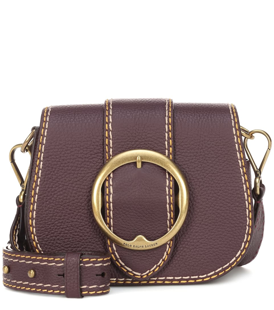 35e6a811 Polo Ralph Lauren - Lennox leather crossbody bag | mytheresa.com