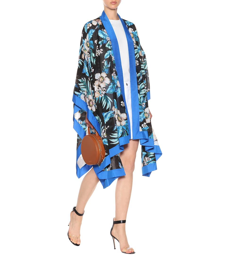 Cheap With Mastercard Cheap Sale Best Wholesale Floral cotton and silk kimono jacket Diane Von Fürstenberg Cheap Sale Get Authentic XRuWD8da0x