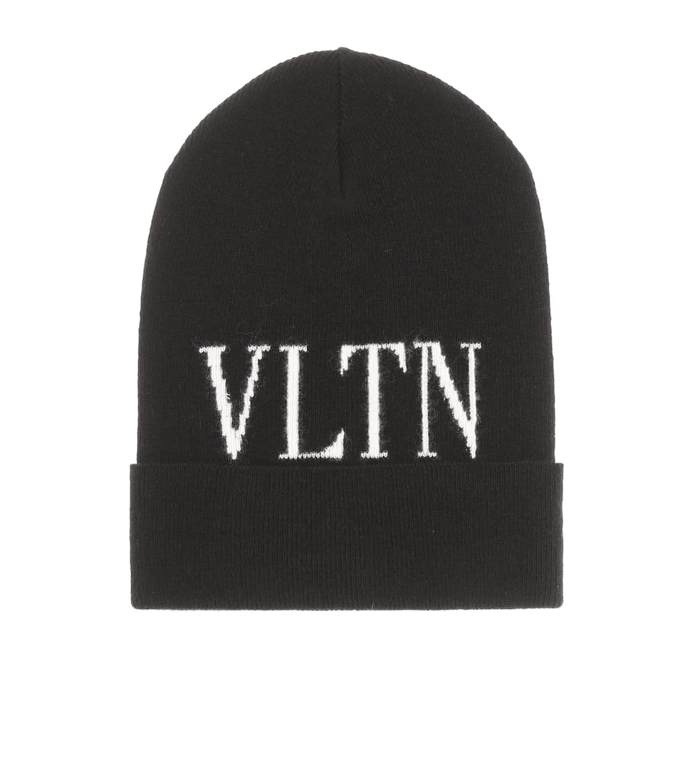 Wool And Cashmere Blend Beanie by Valentino