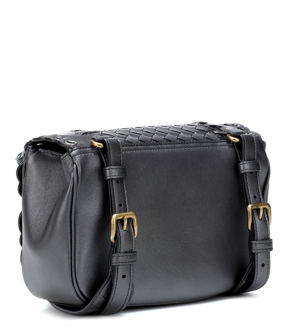 eb1f77d2ecd Bv Luna Leather Shoulder Bag - Bottega Veneta   mytheresa