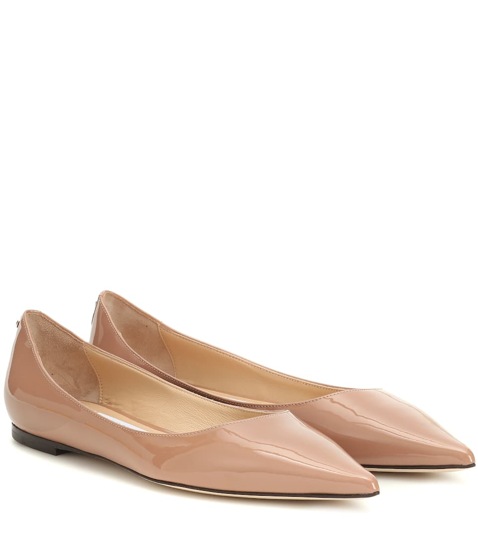 Jimmy Choo - Love patent-leather ballet