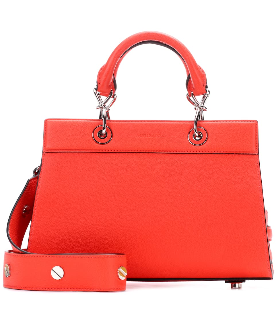 SHADOW SMALL LEATHER TOTE