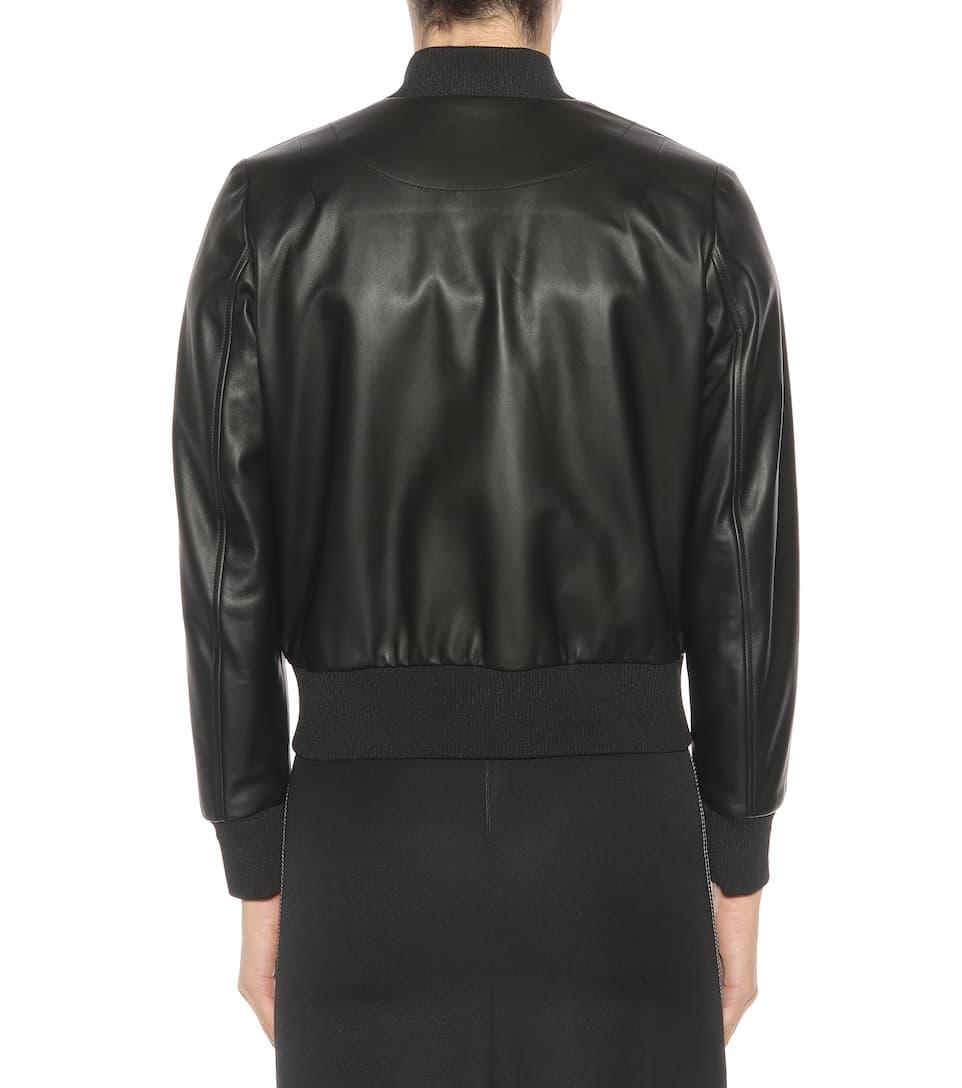Fendi Studded Leather Jacket