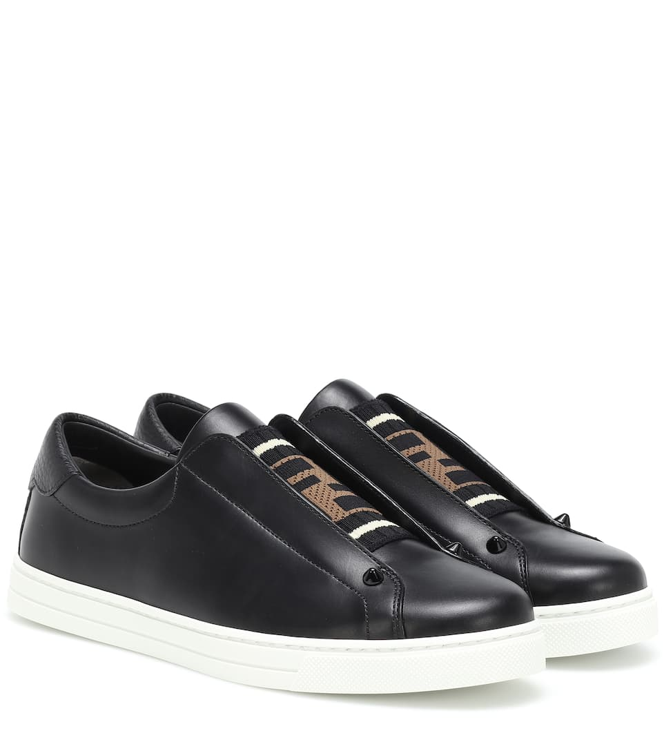 Sneakers Aus Leder by Fendi