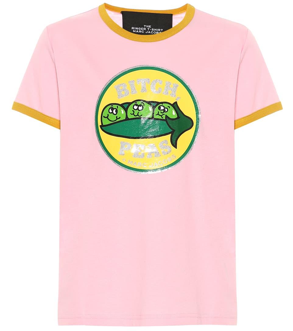 Jacobs Imprimé Marc shirt T Ringer Coton The En UVGSzqMp