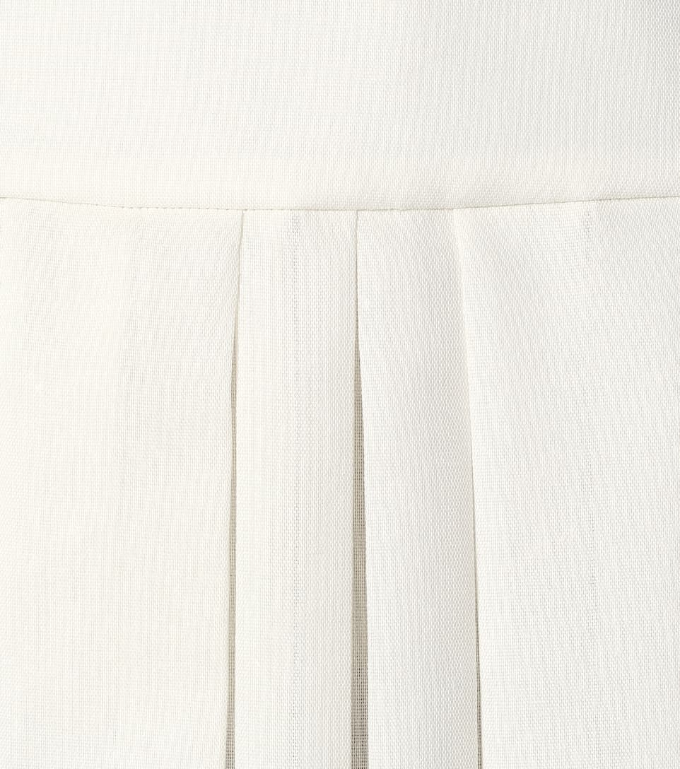 Magdita Pleated Midi Skirt | The Row - Mytheresa