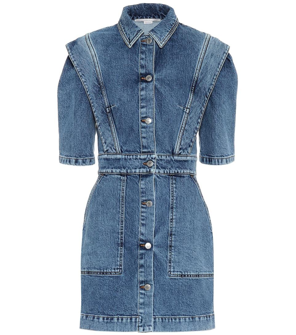 Free UK Postage Long Shirt Size 10 Summer Holiday Womens Denim Dress