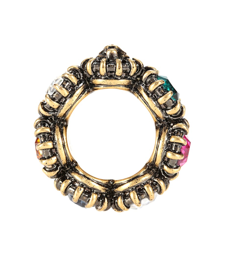 Gucci Crystal-embellished ring nxDAGtwAY