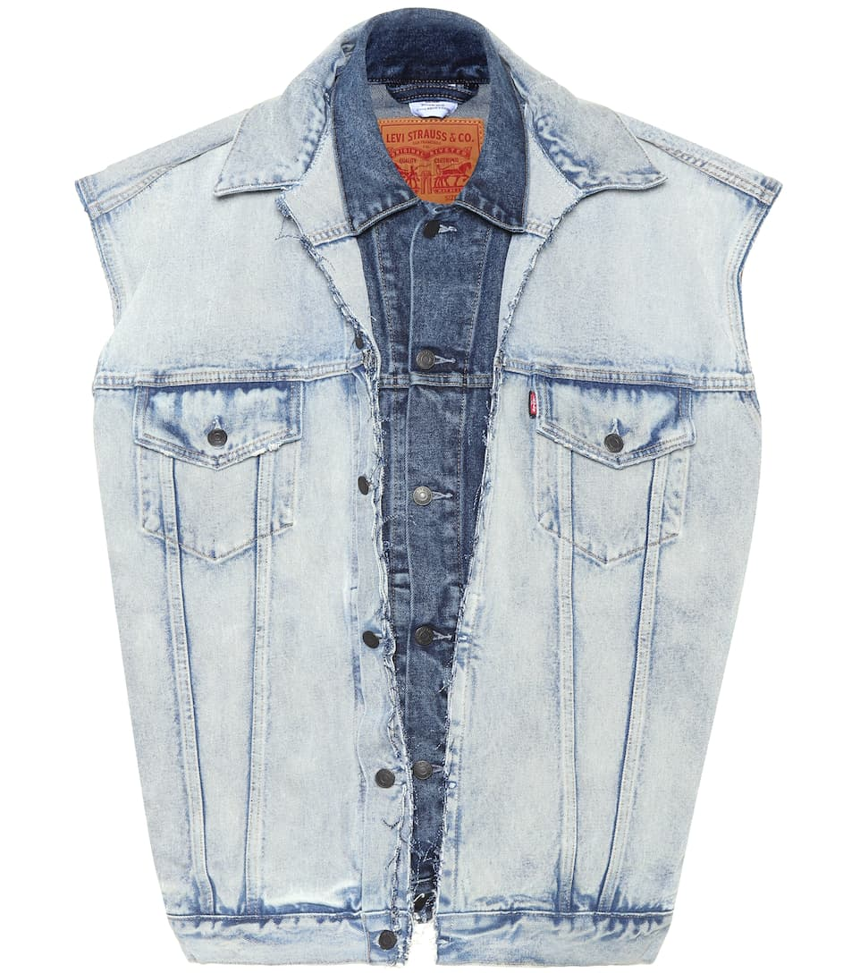 X Levi\'s® Denim Vest - Vetements | mytheresa.com