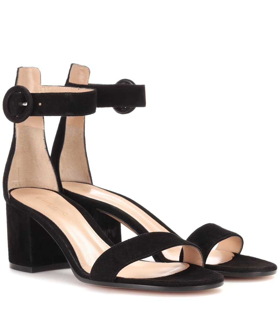 Suede sandals Gianvito Rossi