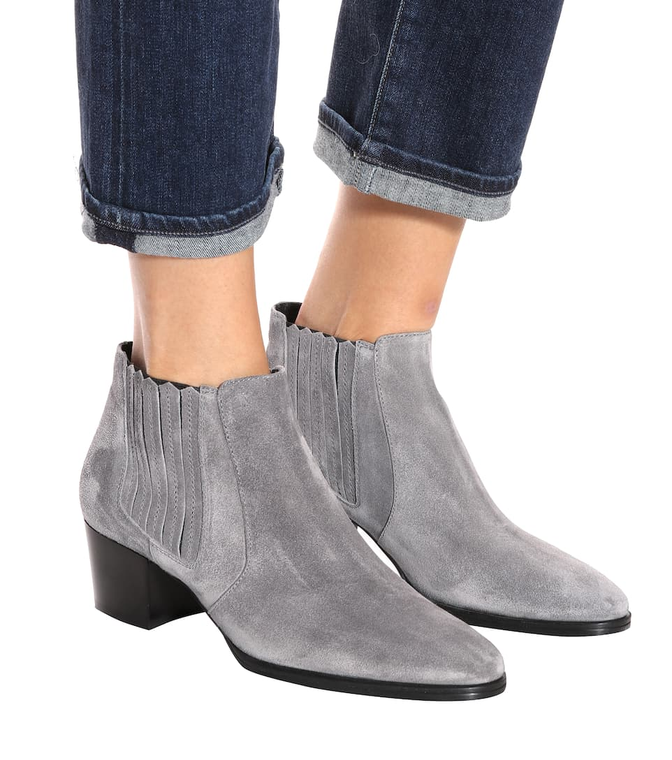 Tods Ankle Boots Made Of Suede