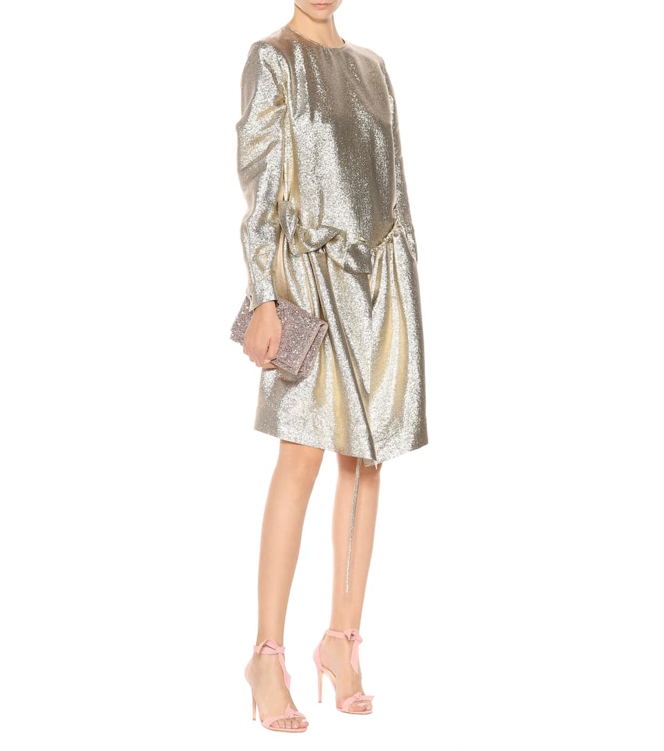 Stella McCartney Metallic-Kleid