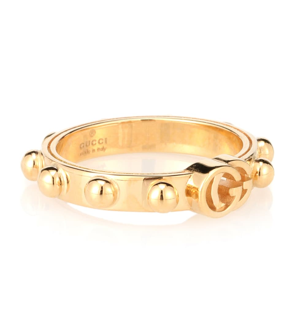 66089fdc378 Gucci - GG Running 18kt gold ring