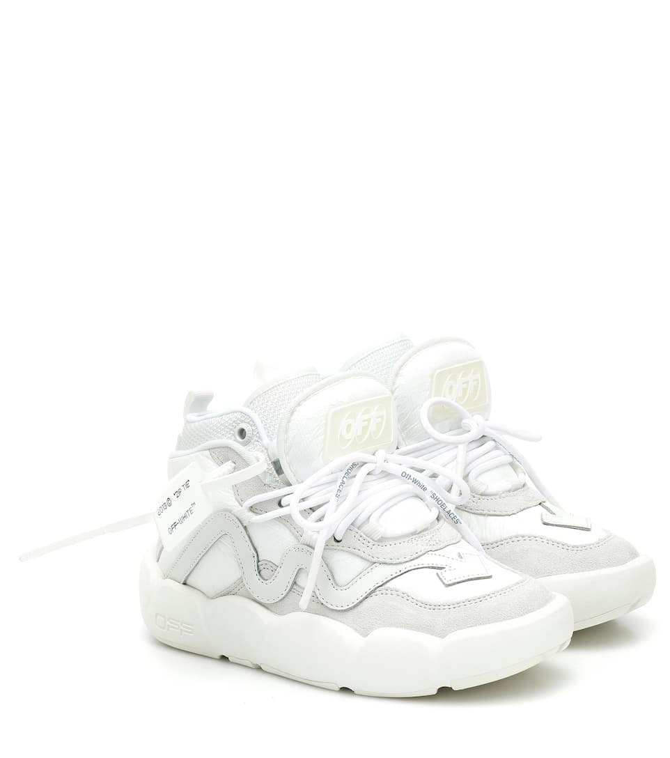 Off-white Optic Chlorine Mid Top Sneaker In White